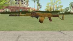 Assault Rifle GTA V (Three Attachments V4) для GTA San Andreas