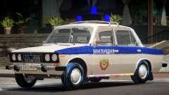 VAZ 2106 Police V1.0 для GTA 4