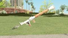 Rocket Launcher (White) для GTA San Andreas