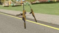 Micro SMG (Luxury Finish) GTA V Full Upgrade V2 для GTA San Andreas