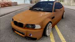 BMW 3-er E46 2000 Stance by Hazzard Garage v2 для GTA San Andreas