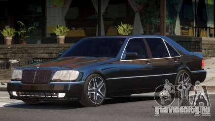 Mercedes S70 V1.0 для GTA 4