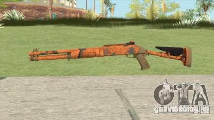 XM1014 Hunter Blaze Orange (CS:GO) для GTA San Andreas