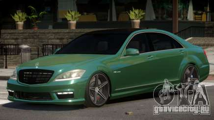 Mercedes Benz S65 Tuned для GTA 4