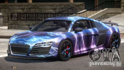 Audi R8 GTS V1.0 PJ2 для GTA 4