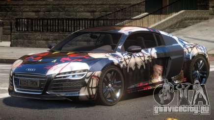 Audi R8 V10 GT PJ3 для GTA 4