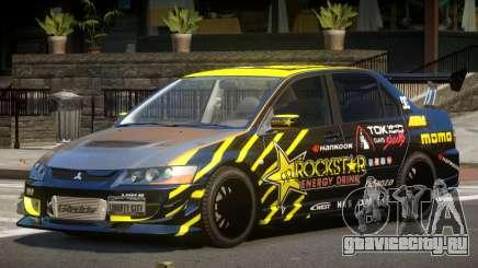 Mitsubishi Lancer Evolution 8 RS J2 для GTA 4
