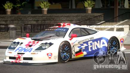 McLaren F1 GTR Le Mans Edition PJ1 для GTA 4