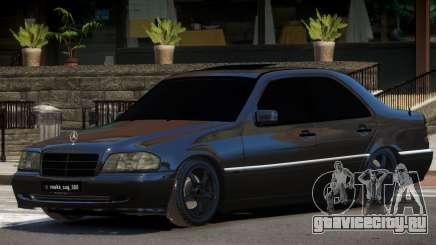 Mercedes Benz W202 C180 для GTA 4