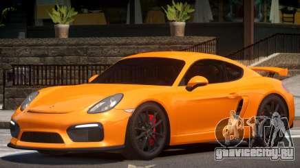 Porsche Cayman GT4 V1.3 для GTA 4