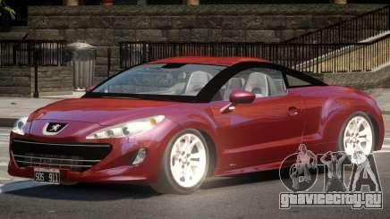 Peugeot RCZ Tuned для GTA 4