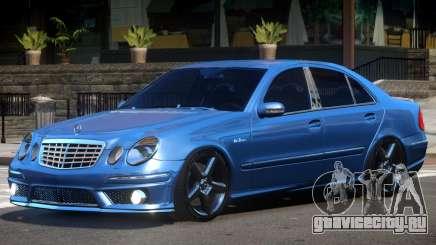 Mercedes Benz E63 W211 V1.1 для GTA 4