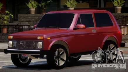 Lada Niva 4x4 V1.0 для GTA 4