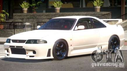 Nissan Skyline R33 Tuning V1.0 для GTA 4