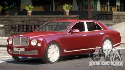 Bentley Mulsanne V1.0 для GTA 4