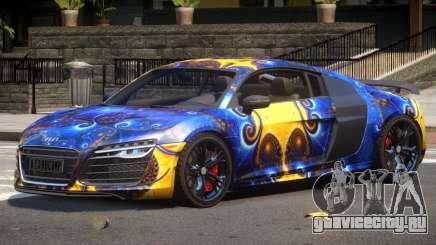 Audi R8 GTS V1.0 PJ3 для GTA 4