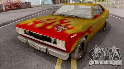 Plymouth Duster 340 Snake Hot Wheels для GTA San Andreas