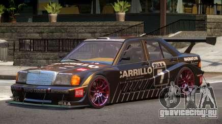 Mercedes 190E Sport PJ5 для GTA 4