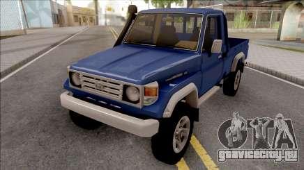 Toyota Land Cruiser J70 Hembra для GTA San Andreas