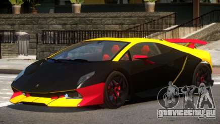 Lamborghini Sesto GT V1.0 PJ1 для GTA 4