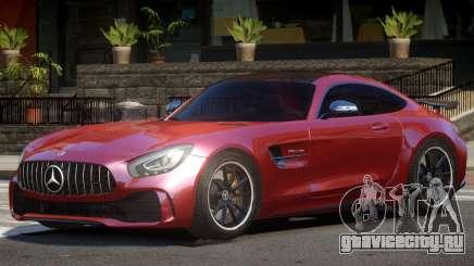Mercedes-Benz AMG GT-R для GTA 4