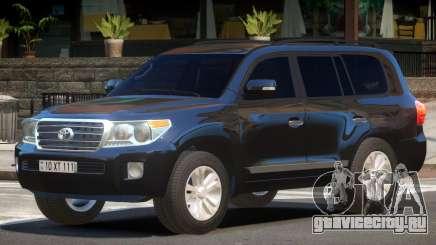 Toyota Land Cruiser 200 ST для GTA 4