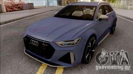 Audi RS6 C8 2020 для GTA San Andreas