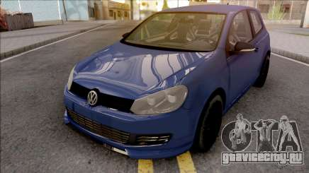 Volkswagen Golf 6 Auto Skola Team для GTA San Andreas