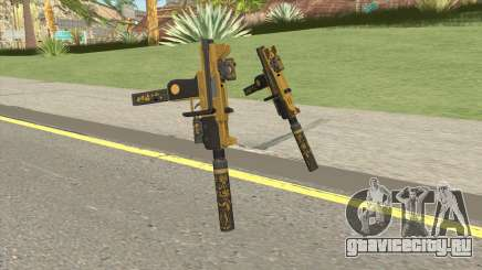 Micro SMG (Luxury Finish) GTA V Full Upgrade V1 для GTA San Andreas