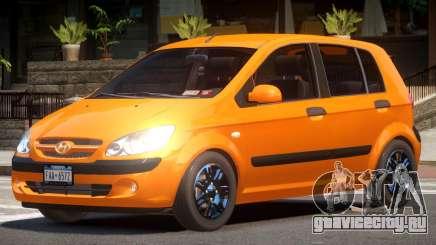 Hyundai Getz V1.0 для GTA 4