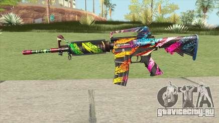M4A1 (Wild Carnival) для GTA San Andreas