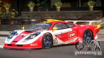 McLaren F1 GTR Le Mans Edition PJ2 для GTA 4