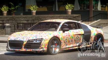 Audi R8 GTS V1.0 PJ5 для GTA 4