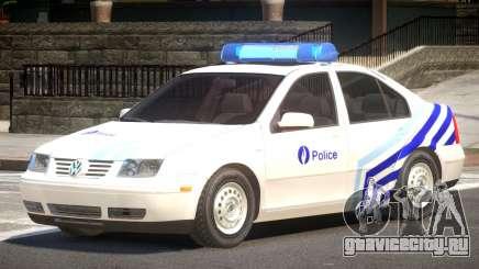 Volkswagen Bora Police V1.1 для GTA 4