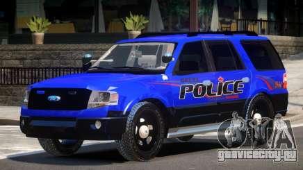 Ford Expedition Police V1.2 для GTA 4