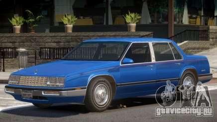 1986 Buick Skylark Sedan для GTA 4