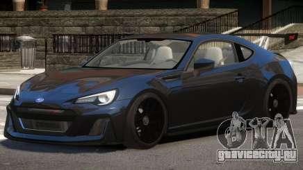 Subaru BRZ GTS для GTA 4