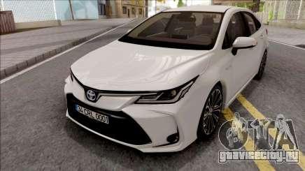 Toyota Corolla Hybrid 2020 для GTA San Andreas