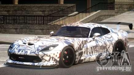Dodge Viper GTS V1.1 P1 для GTA 4