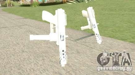 Tec-9 (White) для GTA San Andreas