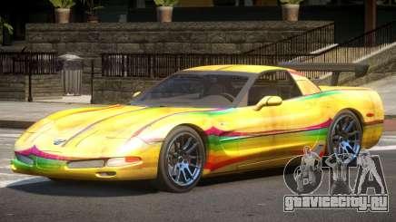 Chevrolet Corvette Z06 ST PJ4 для GTA 4