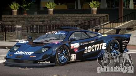 McLaren F1 GTR PJ3 для GTA 4