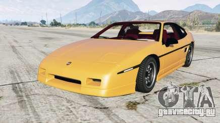 Pontiac Fiero GT 1985 для GTA 5
