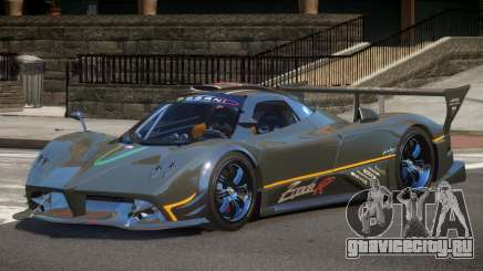 Pagani Zonda RS PJ1 для GTA 4