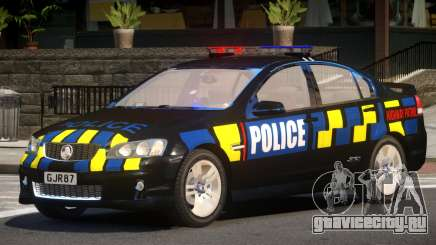 Holden VE Commodore Police V1.0 для GTA 4