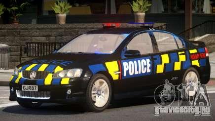 Holden VE Commodore Police V1.0 для GTA 4