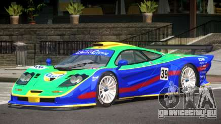 McLaren F1 GTR Le Mans Edition PJ3 для GTA 4