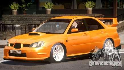 Subaru Impreza STI Tuned V1.0 для GTA 4
