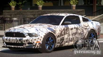 Ford Mustang RS V1.0 PJ5 для GTA 4