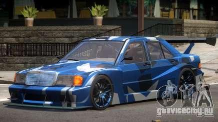 Mercedes 190E Sport PJ2 для GTA 4